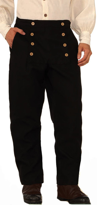 Steampunk Pants - Black