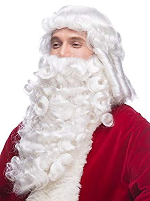 Deluxe Santa Wig & Beard