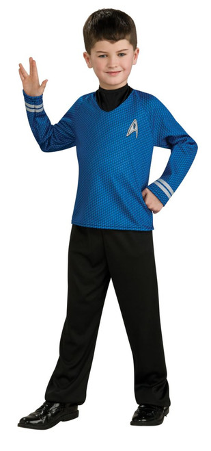 Children's Spock Star Trek Movie Costume