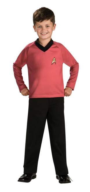 Children's Scotty Star Trek Movie Costume