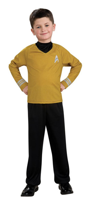 Children's Captain Kirk Star Trek Movie Costume
