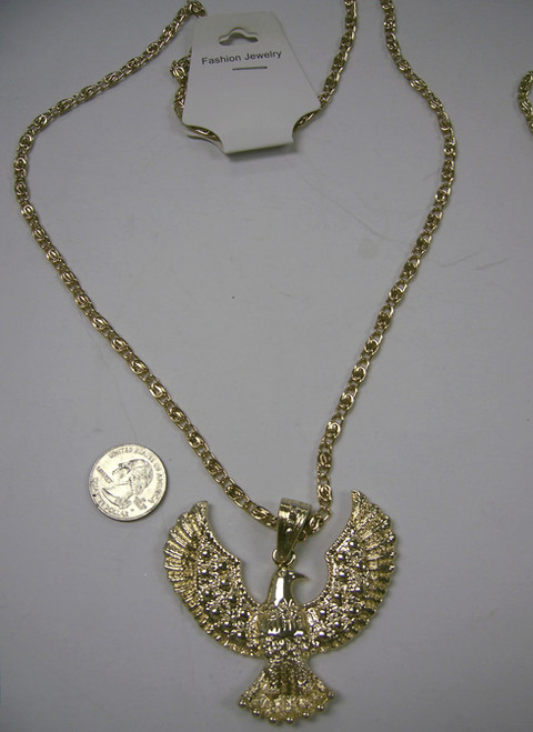 Eagle Elvis Necklace