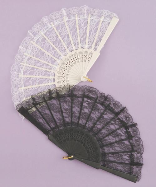 Lace Victorian Fan