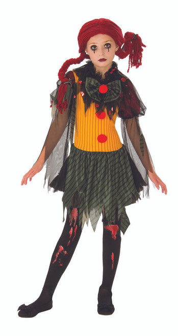 Children's Zombie Clown Costume