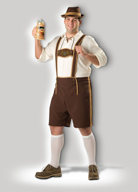 Bavarian Guy Plus Costume