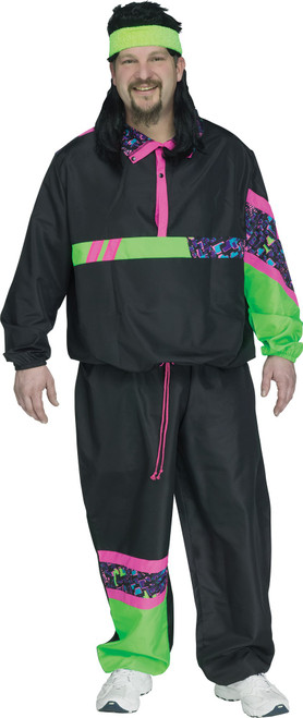80s Track Suit Plus Costume