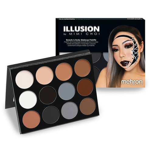 Mehron Illusion by Mimi Choi 12 Shade Makeup Palette