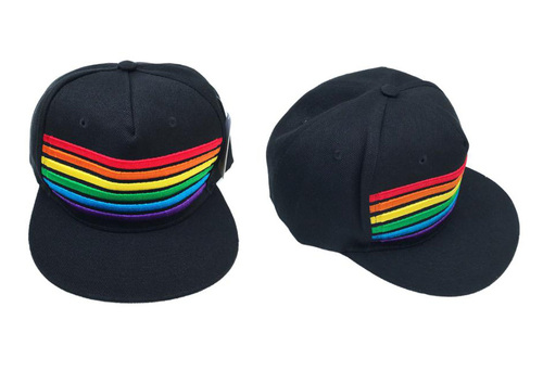 Rainbow Col Baseball Hat