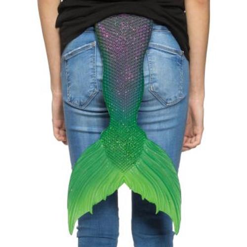 """Crystal Mermaid Tail 22"""" Purple"""