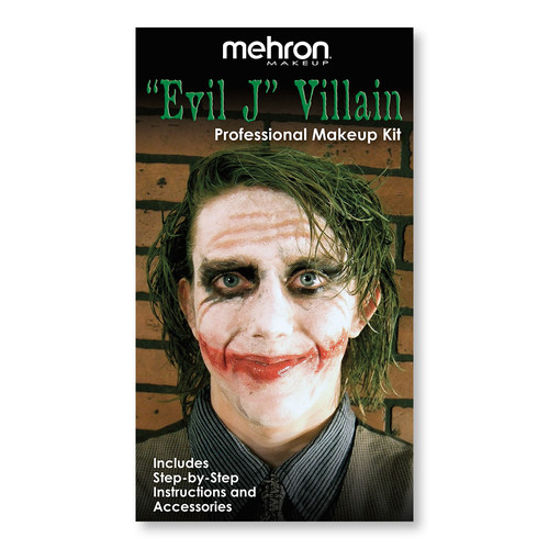 Mehron Evil J Character Makeup Kit