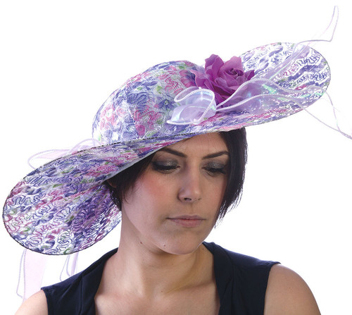 Purple Passion Derby Hat