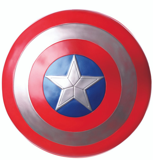 "Adult Avengers 24"" Captain America Endgame Shield"