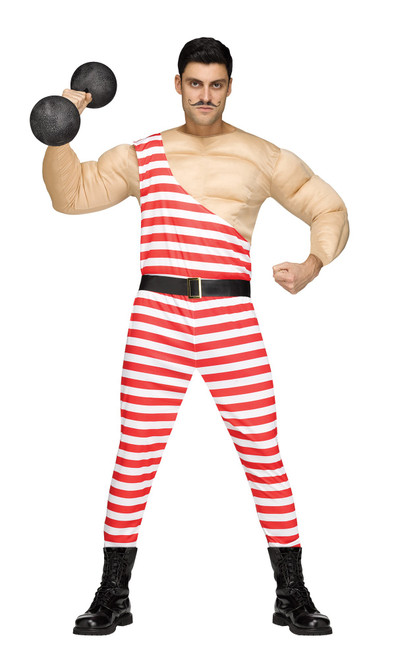 Carney Muscle Man Costume