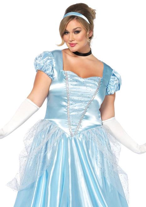 Classic Cinderella Costume - Plus Size