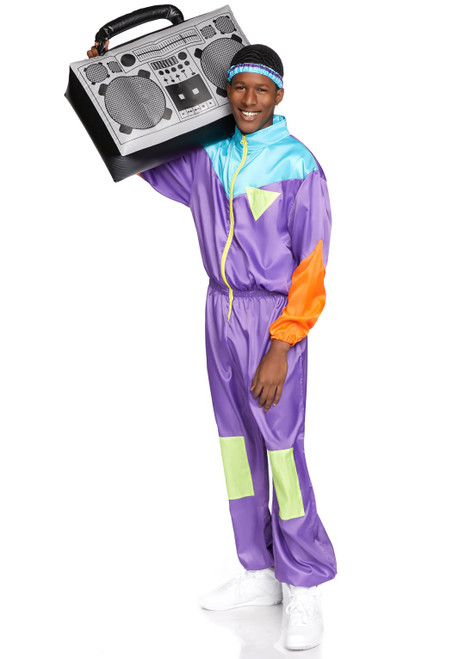 Awesome 80s Ski Suit Costume