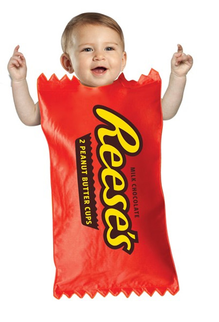 Infant's Reese's Cup Bunting Costume