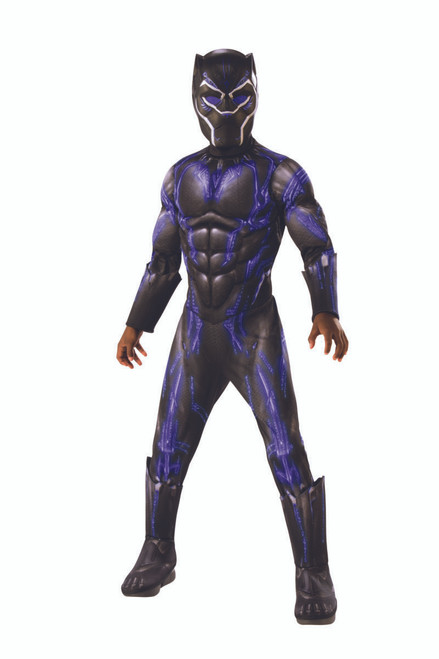 Children's Deluxe Black Panther Battle Suit Avengers: Endgame Costume