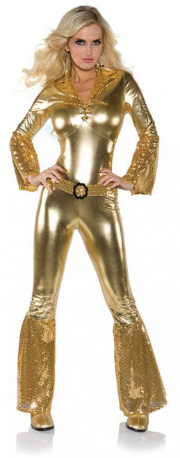 Dancing Queen Gold Costume