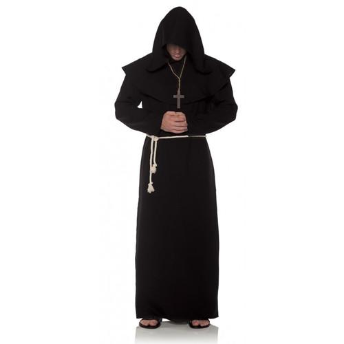 Black Monk Robe Costume