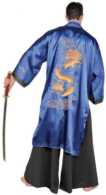 Black Samurai Costume - Plus Size