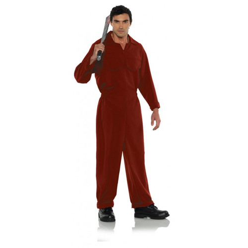 Red Boiler Suit Costume