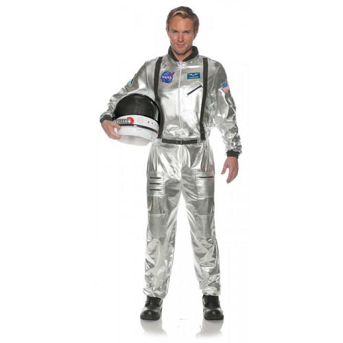 Silver Astronaut Costume - Plus Size