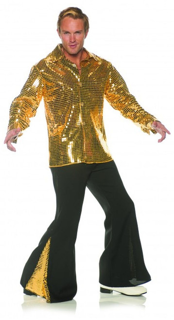 70s Disco Dancing King Costume - Plus Size