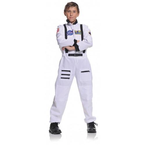 Children's White Astronaut Costume