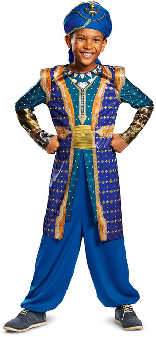 Children's Genie Aladdin Live Action Costume