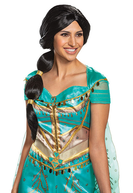 Jasmine Wig Adult Live Action Aladdin