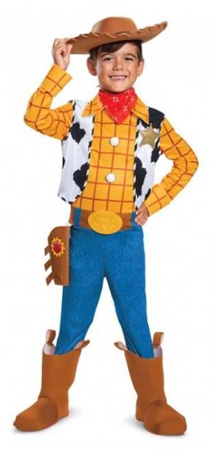 Deluxe Children's Toy Story 4 Woody Costume