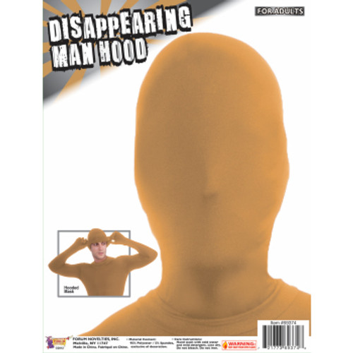 Beige Disappearing Man hood