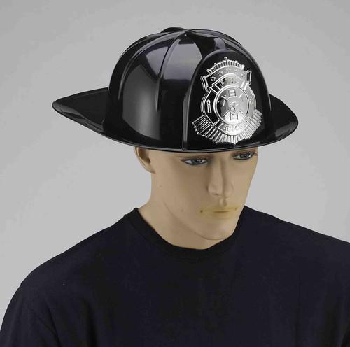 Black Firefighter Helmet
