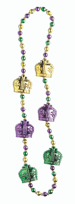 Mardi Gras Bead Necklace