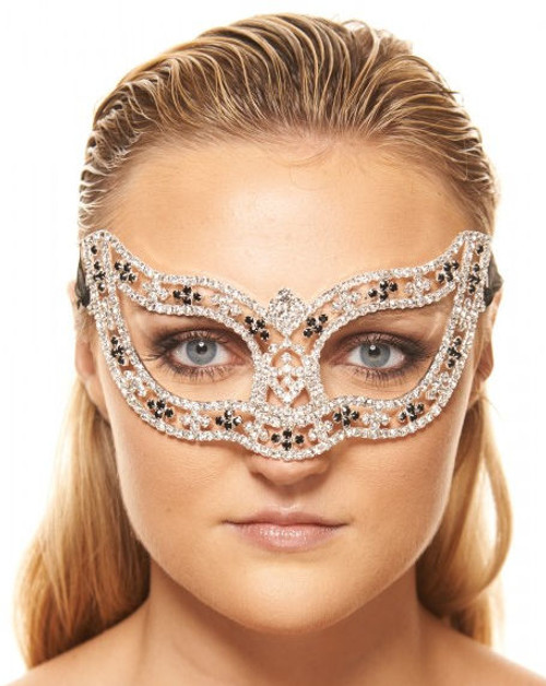 Clear Crystal Mask