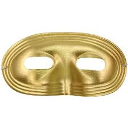 Metallic Lame Domino Mask
