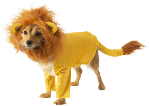 Simba Lion King Pet Costume