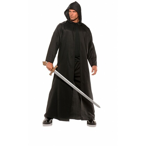 Hooded Cloak Black