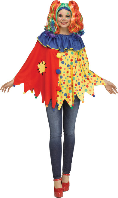 Sweet Clown Poncho