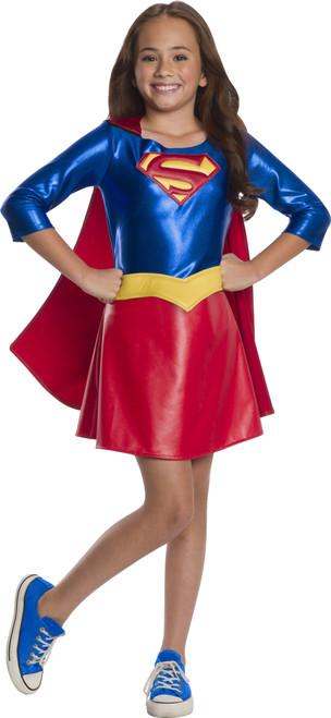 Children's DC Super Hero Girls Deluxe Supergirl Costume