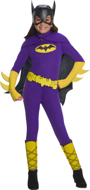 Children's DC Super Hero Girls Deluxe Batgirl Costume