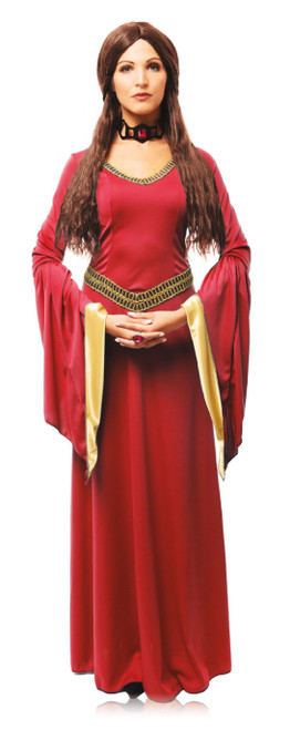 Adult's Red Witch Costume