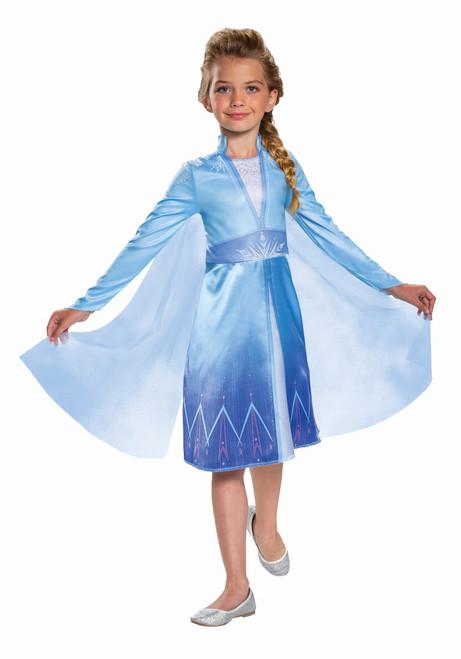Deluxe Children's Elsa Frozen 2 Costume