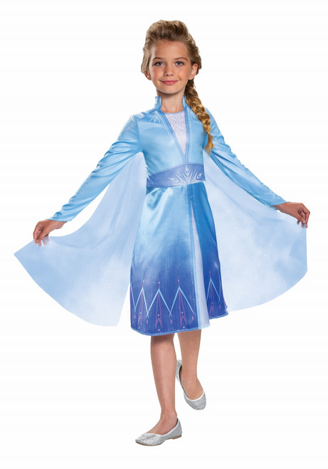 Deluxe Children's Elsa Frozen 2 Costume