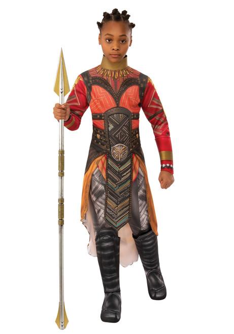 Children's Avengers: Endgame Deluxe Dora Milaje Okoye Gold Version Costume