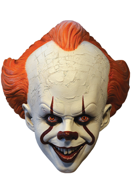 Pennywise Mask IT Movie 2017