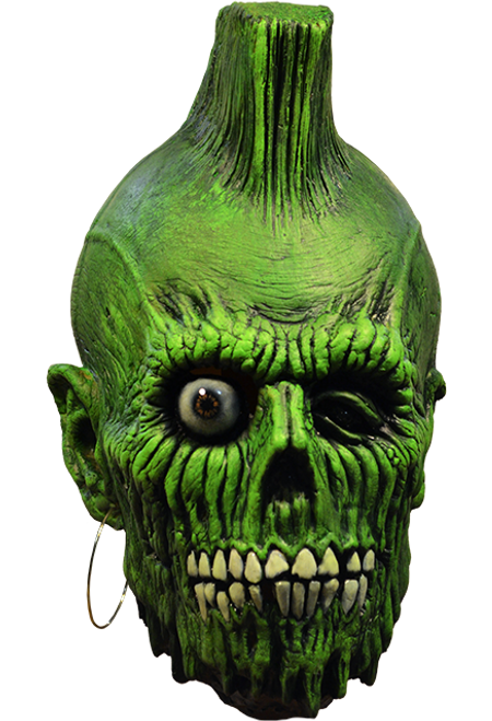 Mohawk Zombie Mask - Rise of the Living Dead