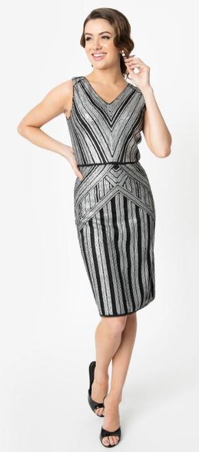 Joanna Silver Flapper Dress