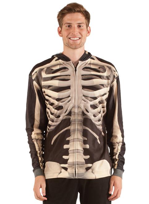3D Skeleton Hoodie