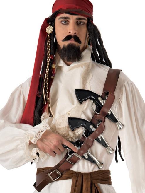 Pirate Shoulder Belt with Guns